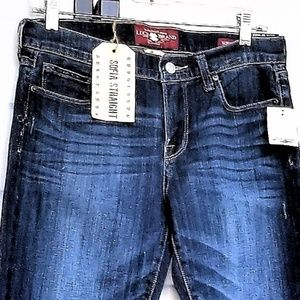 """Woman's Lucky Brand Jeans 8/29 Waist 30"""" Ankle NWT"""